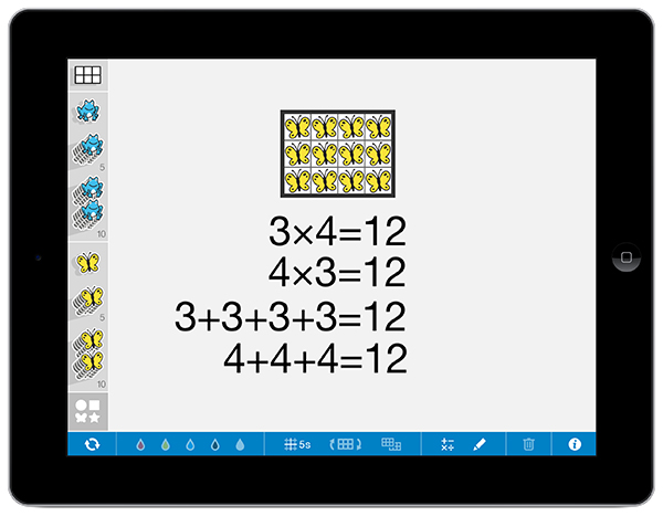 Number Frames App | The Math Learning Center