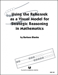 Using the Rekenrek as a Visual Model for Strategic Reasoning in Mathematics