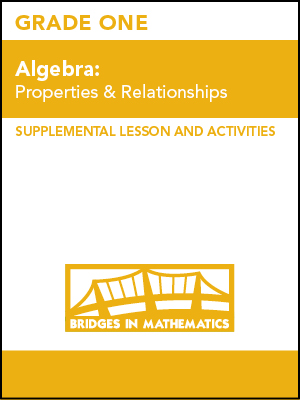 Lessons & Activities, Grade 1 | The Math Learning Center